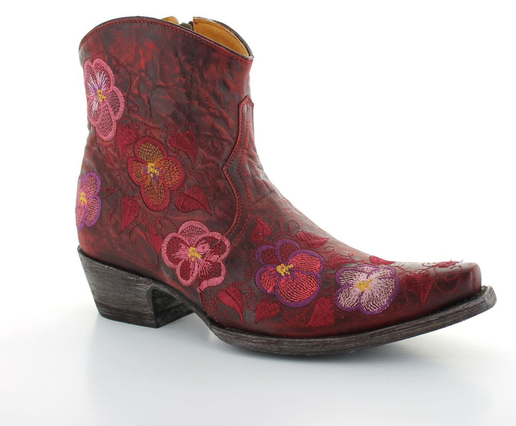 Old Gringo Pansy Short Red Boot BL2991-1 Image