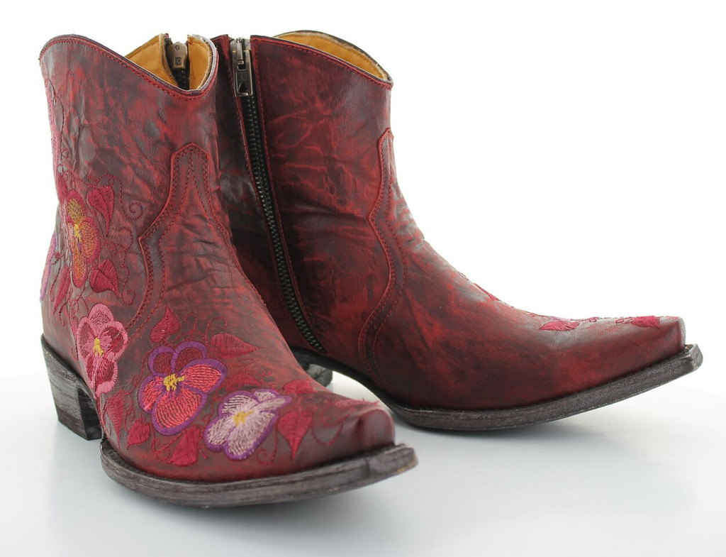 Old Gringo Pansy Short Red Boot BL2991-1 Picture