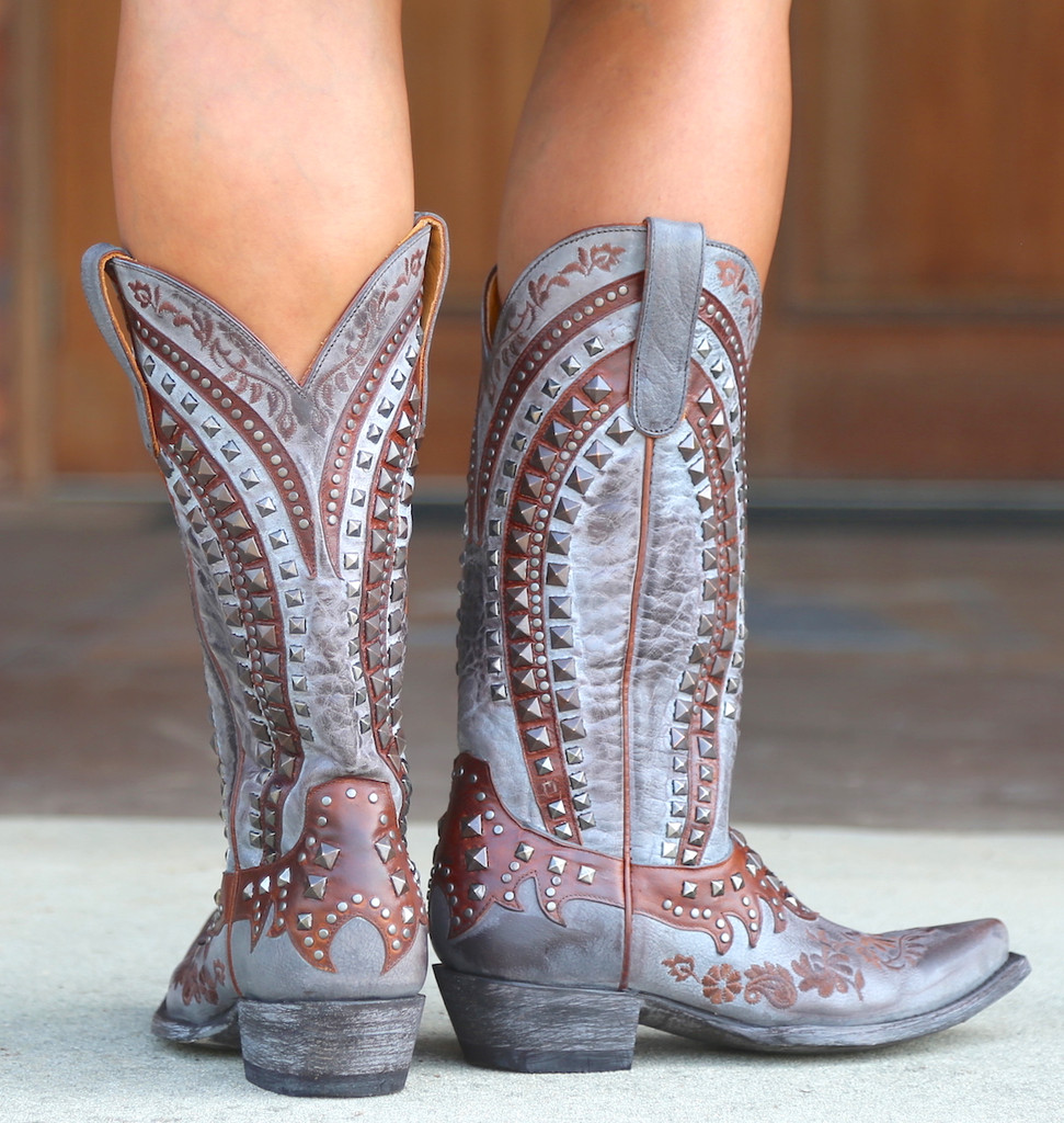 Old Gringo Kress Chocolate Boots L2988-1 Heel