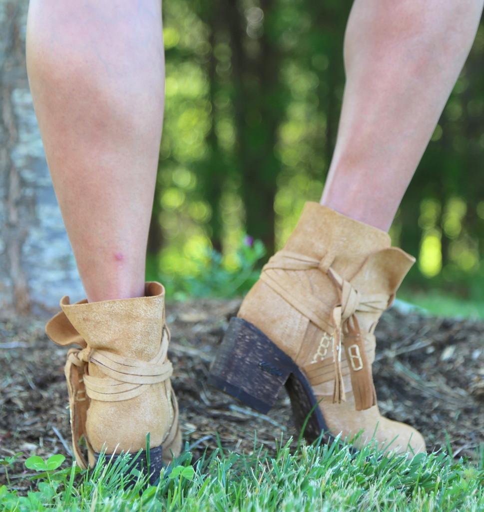 Miss Macie Katie Jo Boots U2004-01 Heel