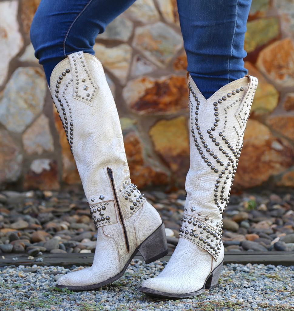 Old Gringo Belinda Milk Boots L903-32 Image