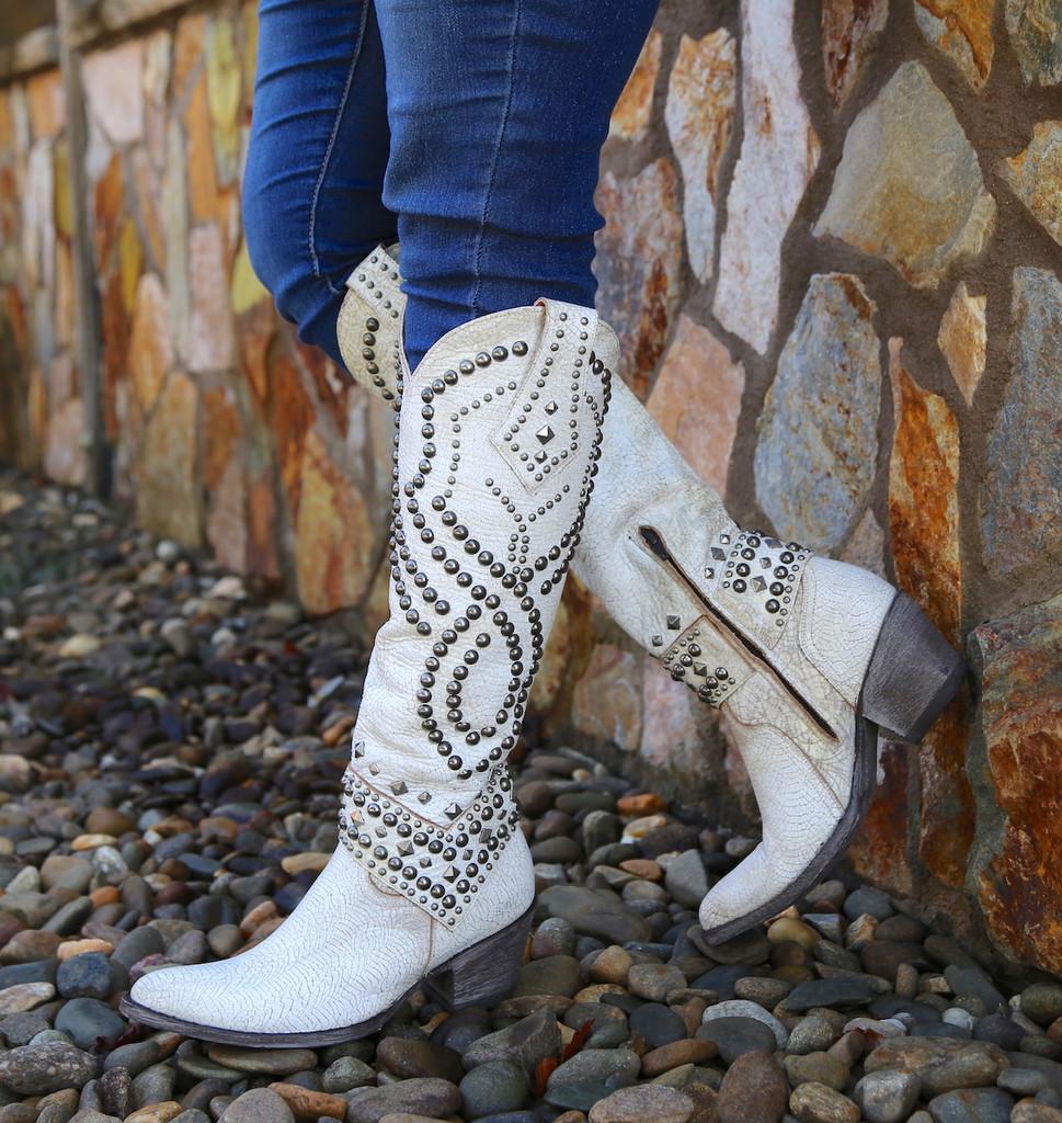 Old Gringo Belinda Milk Boots L903-32 Picture