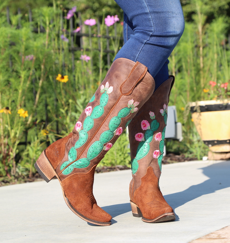 Junk Gypsy by Lane Hard to Handle Rust Boots JG0012A Toe