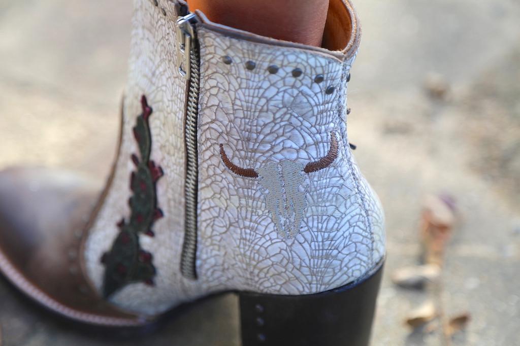 Old Gringo Galena Milk Boots BL3086-2 Longhorn