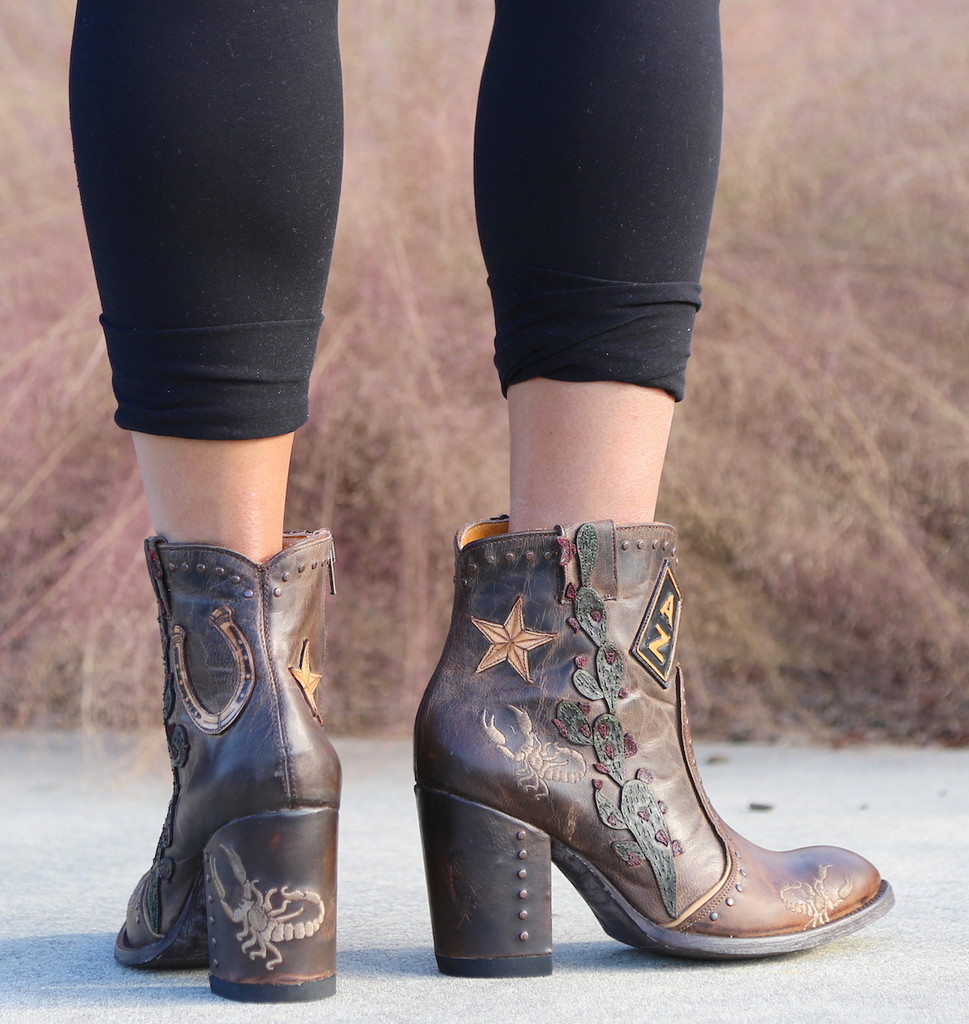 Old Gringo Galena Rust Boots BL3086-1 Back