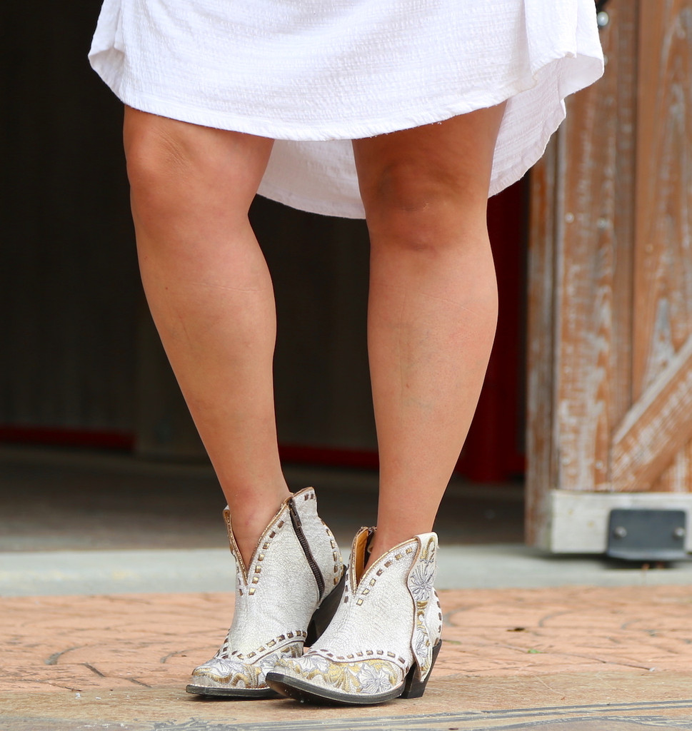 Old Gringo Erin Short White Boots BL3083-1 Photo