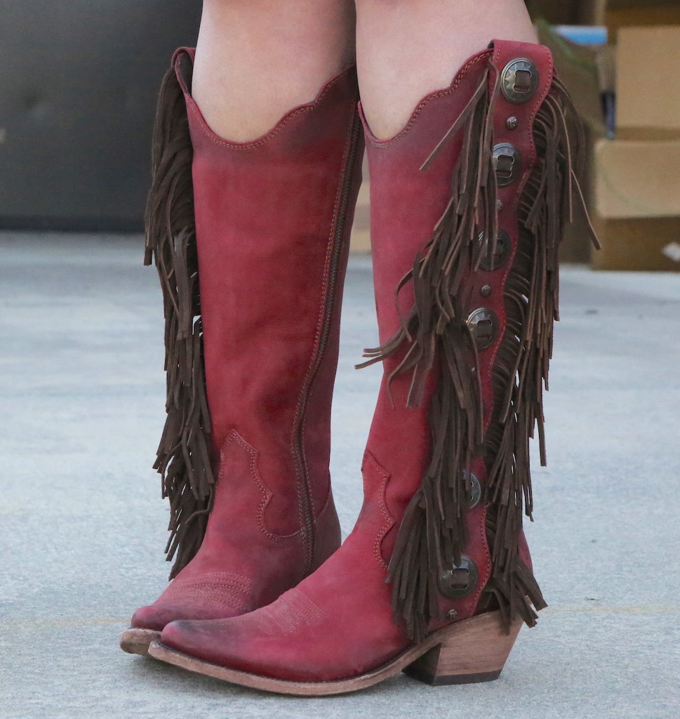 Liberty Black Ophelia Rojo Boots LB712953 Photo