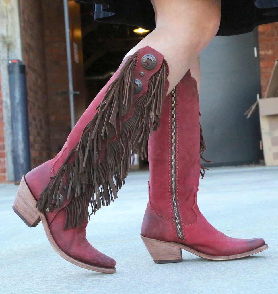Liberty Black Ophelia Rojo Boots LB712953 Image