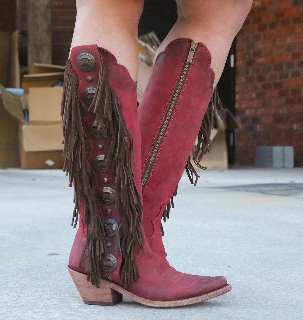 Liberty Black Ophelia Rojo Boots LB712953 Picture