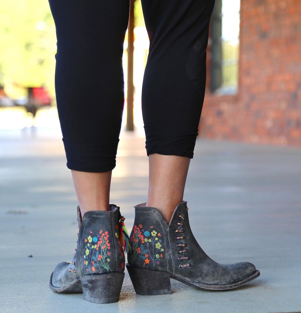 Miss Macie Dadgummit Boots U8001-01 Heel