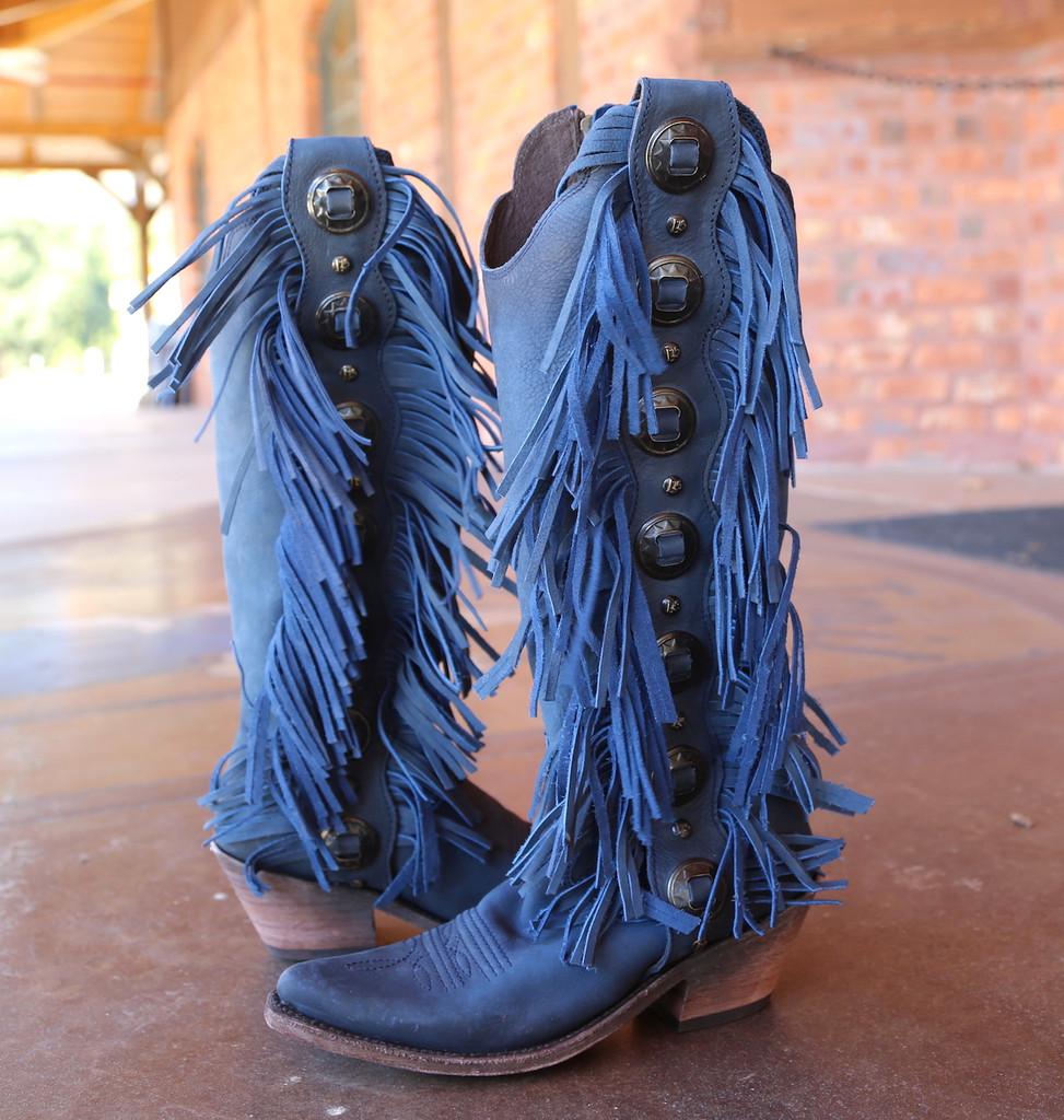 Liberty Black Ophelia Russian Blue Boots LB712953 Image