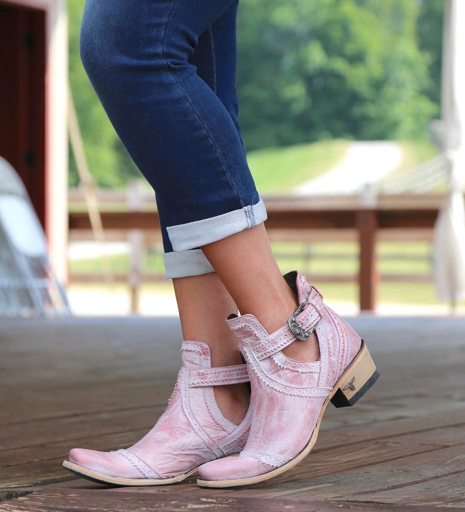Lane Cahoots Blush Ankle Boot LB0393E Picture