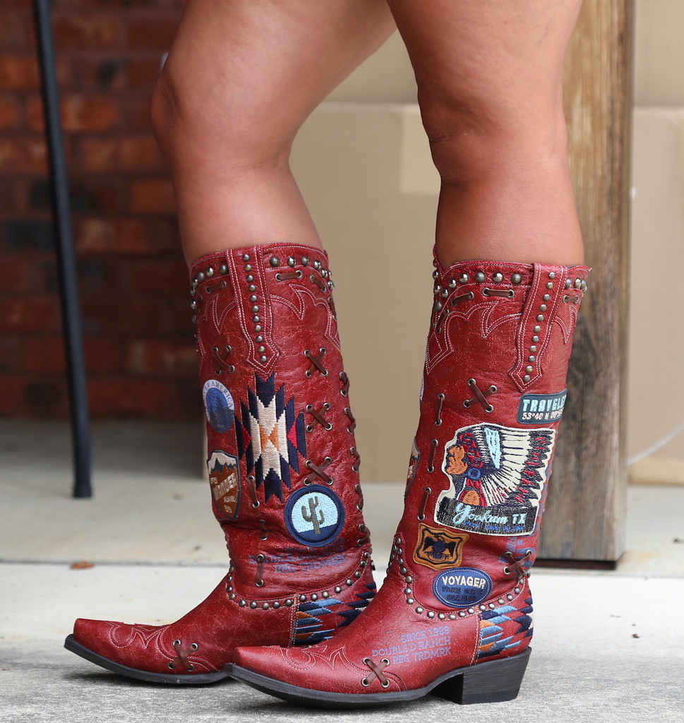 Double D by Old Gringo Escalante Red Boots DDL044-1 Picture