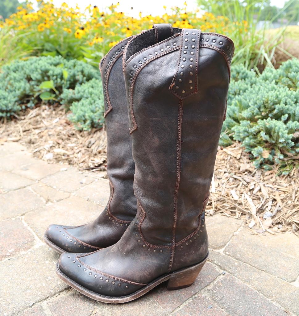 Liberty Black Tall Keeper T Moro Boots LB71166 Side