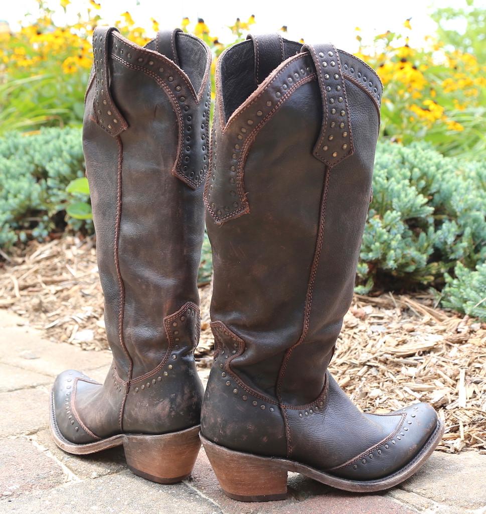Liberty Black Tall Keeper T Moro Boots LB71166 Heel