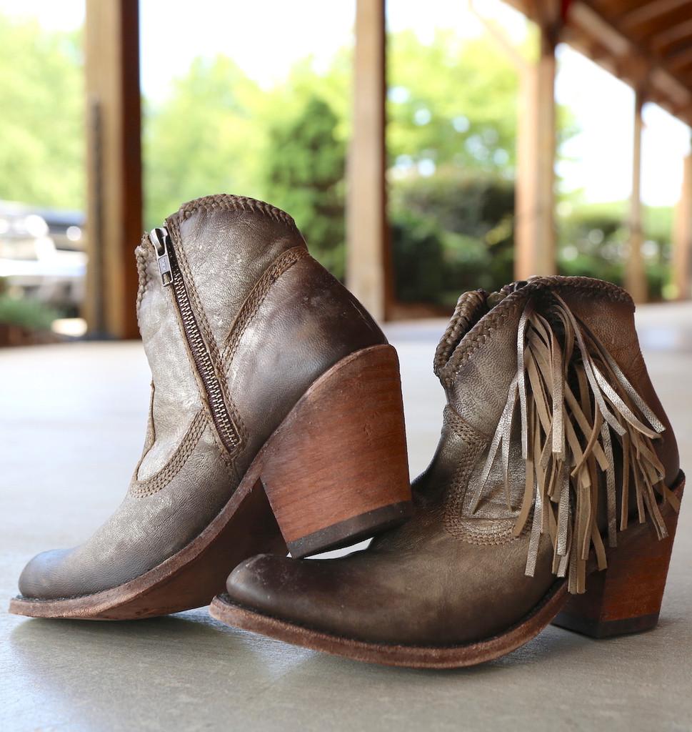 Liberty Black Buffed Metal Boots LB712320 Photo