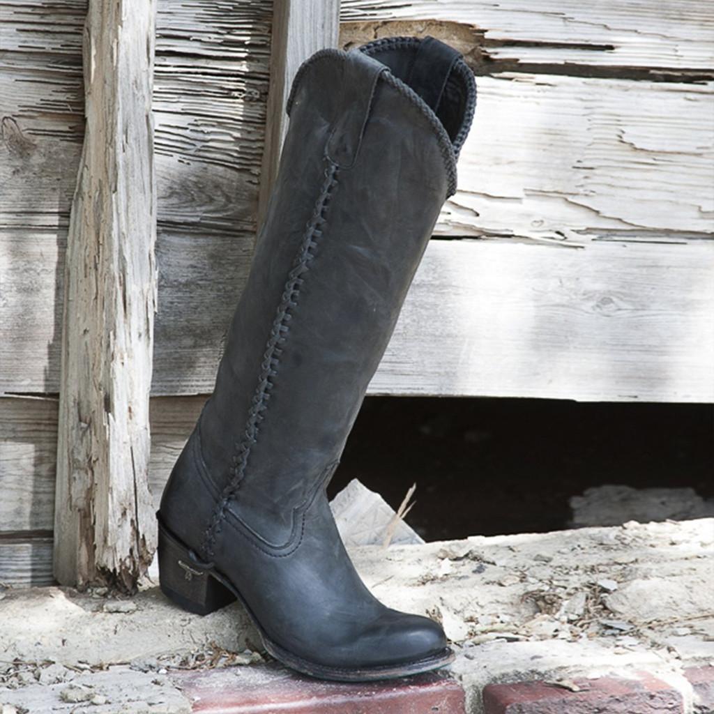 Lane Plain Jane Black Boots LB0350E Picture