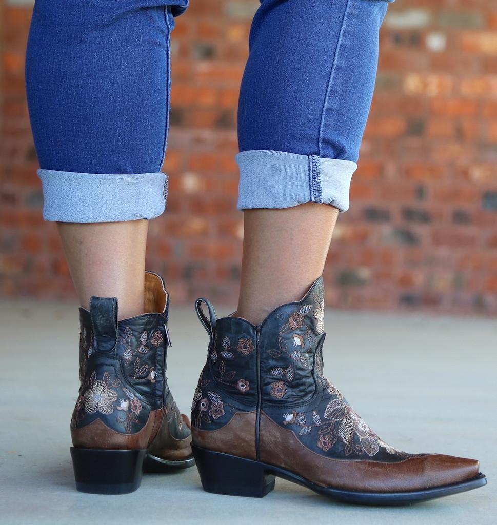 Old Gringo Bonnie Short Black Boots BL2974-4 Heel