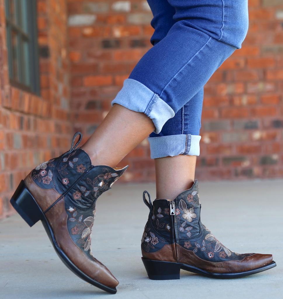 Old Gringo Bonnie Short Black Boots BL2974-4 Picture