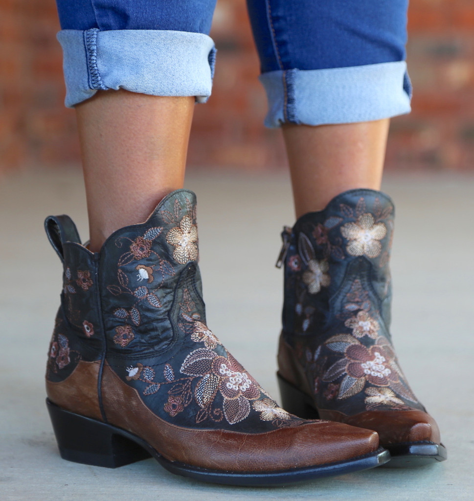 Old Gringo Bonnie Short Black Boots BL2974-4 Photo