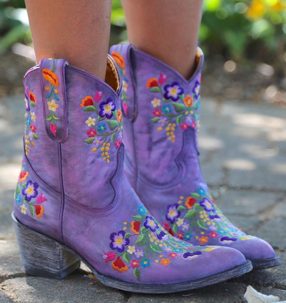 Old Gringo Sora Short Violet Boots L841-41 Picture