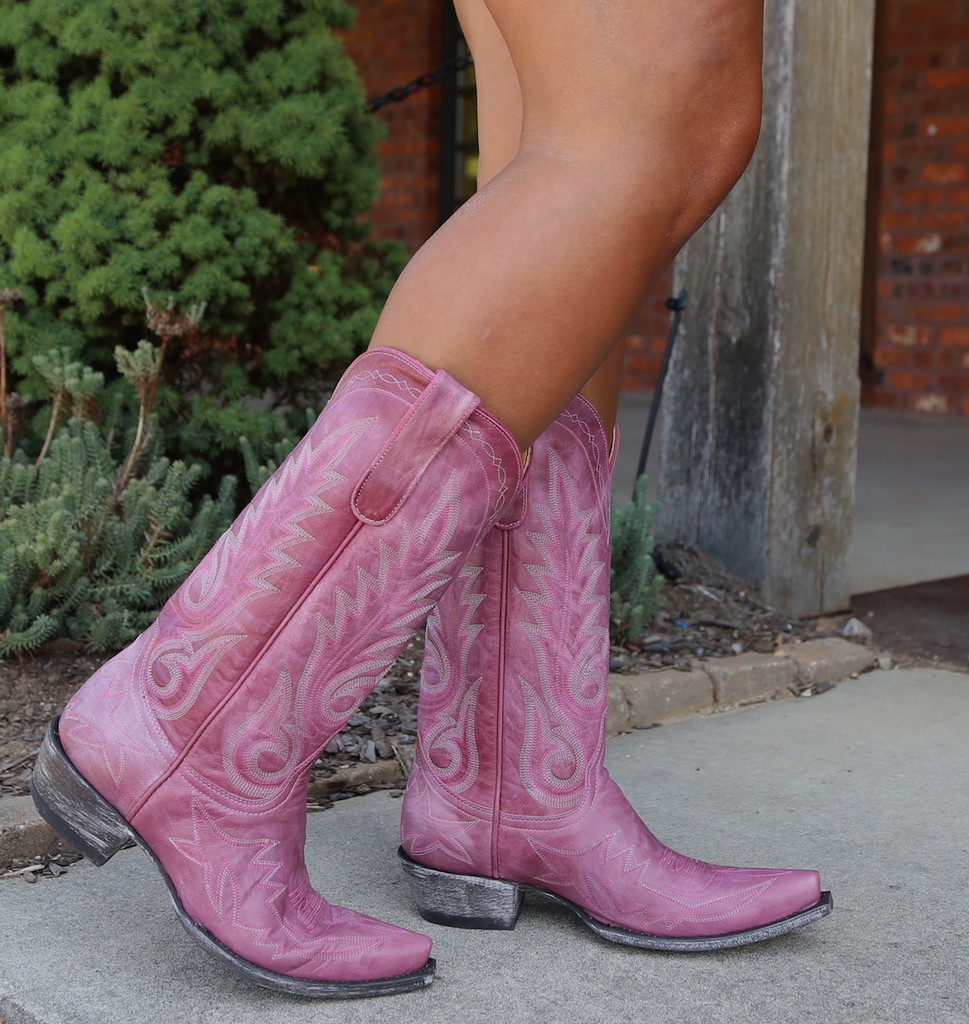 Old Gringo Nevada Pink Boots L175-426 Photo