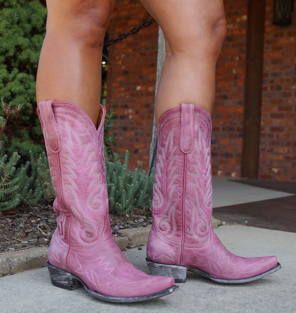 Old Gringo Nevada Pink Boots L175-426 Picture
