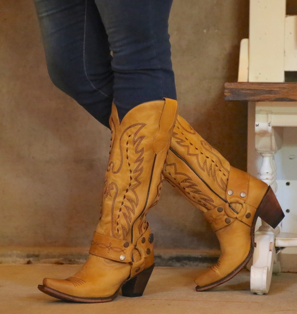 Junk Gypsy by Lane Vagabond Mustard Boots JG0030C Picture