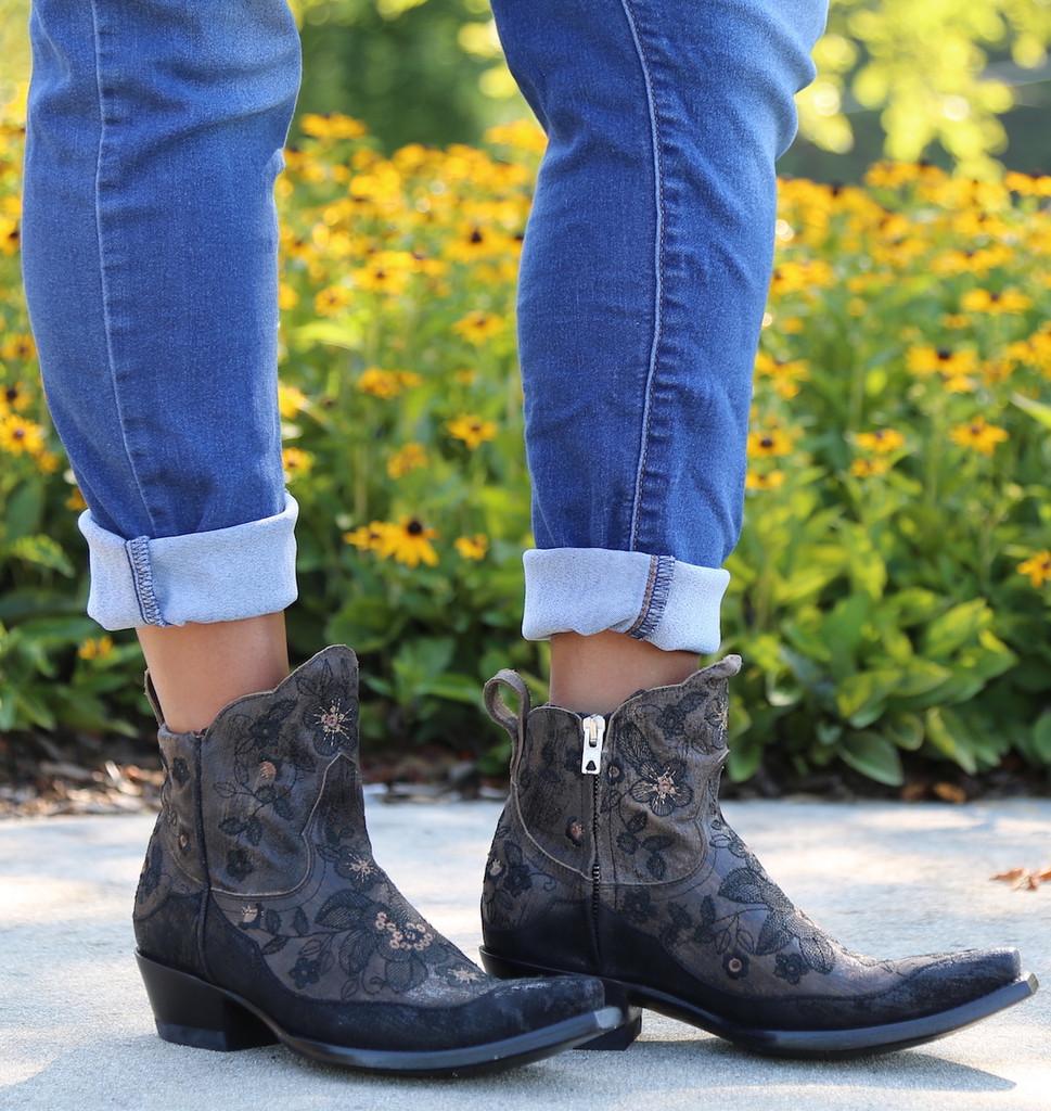 Old Gringo Bonnie Short Brown Boots BL2974-1 Image