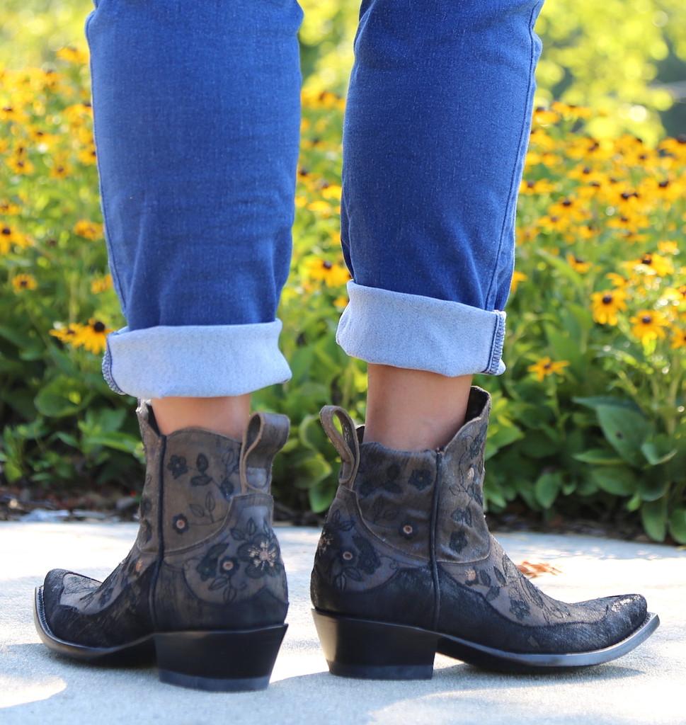 Old Gringo Bonnie Short Brown Boots BL2974-1 Heel