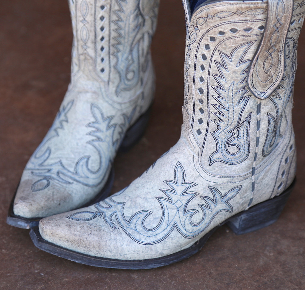 Double D by Old Gringo Texas Jack Vintage Ice Boots DDL033-3 Detail