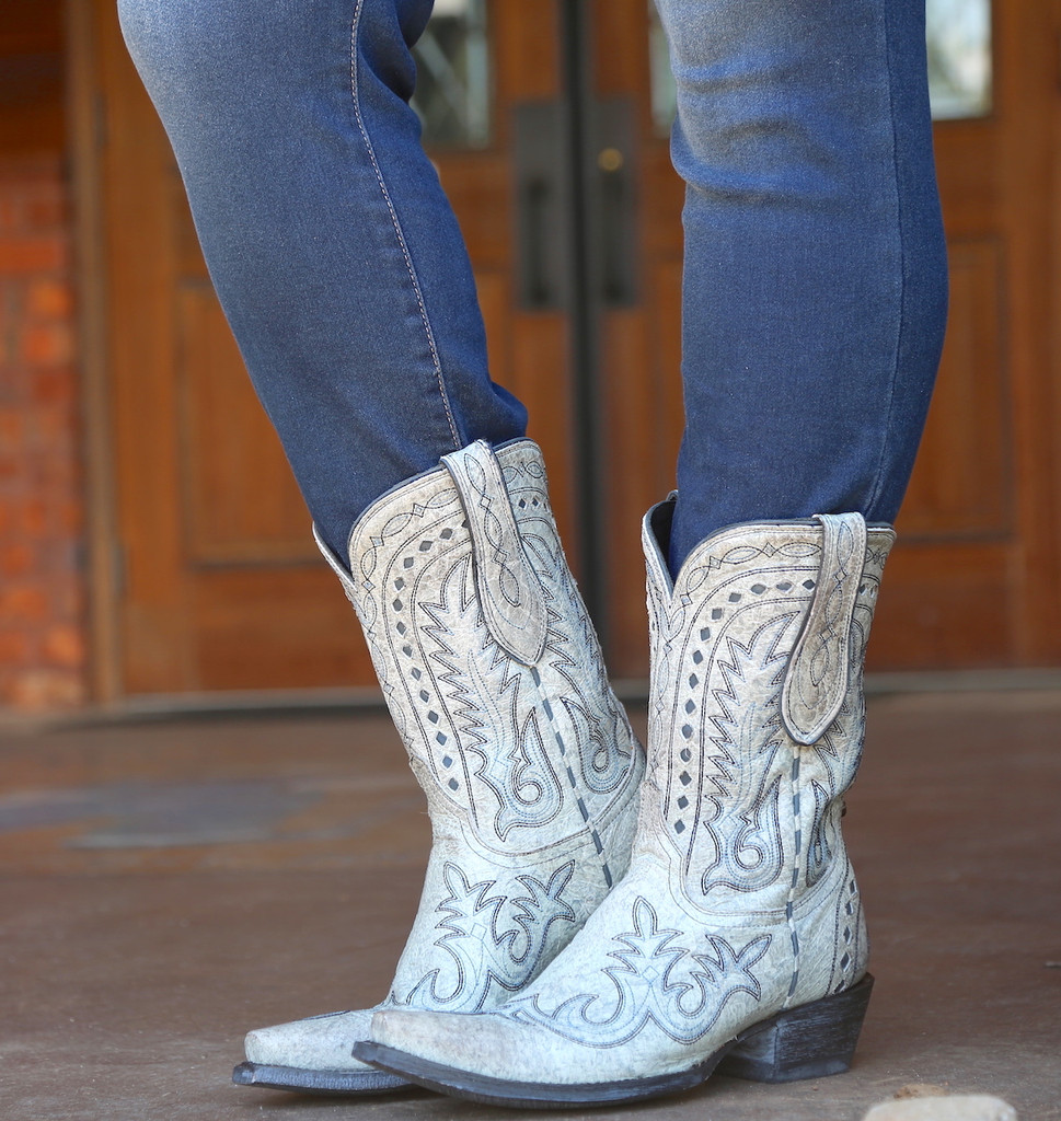 Double D by Old Gringo Texas Jack Vintage Ice Boots DDL033-3 Image