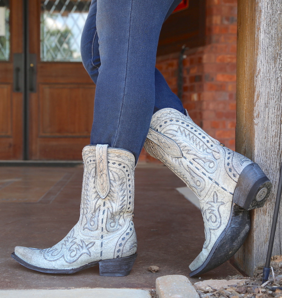Double D by Old Gringo Texas Jack Vintage Ice Boots DDL033-3 Picture