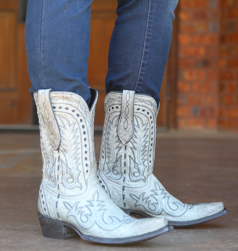 Double D by Old Gringo Texas Jack Vintage Ice Boots DDL033-3 Photo