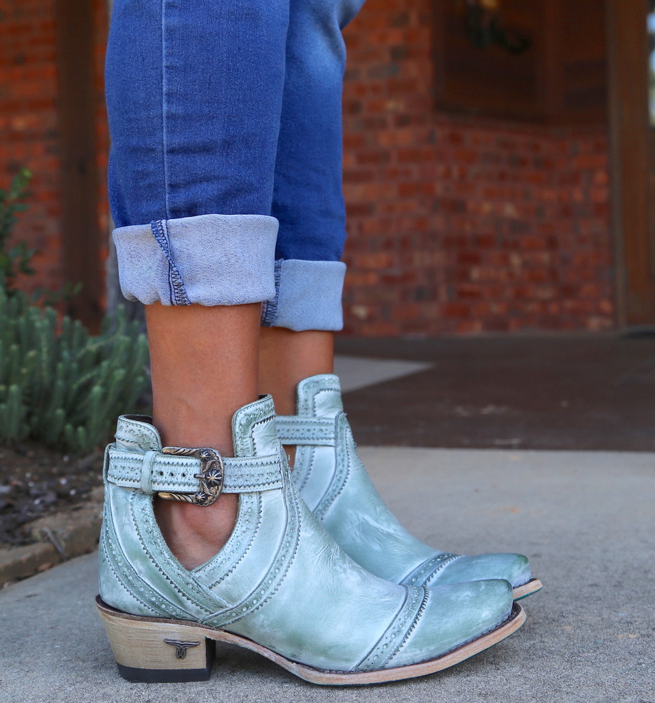Lane Cahoots Turquoise Boots LB0393D Photo