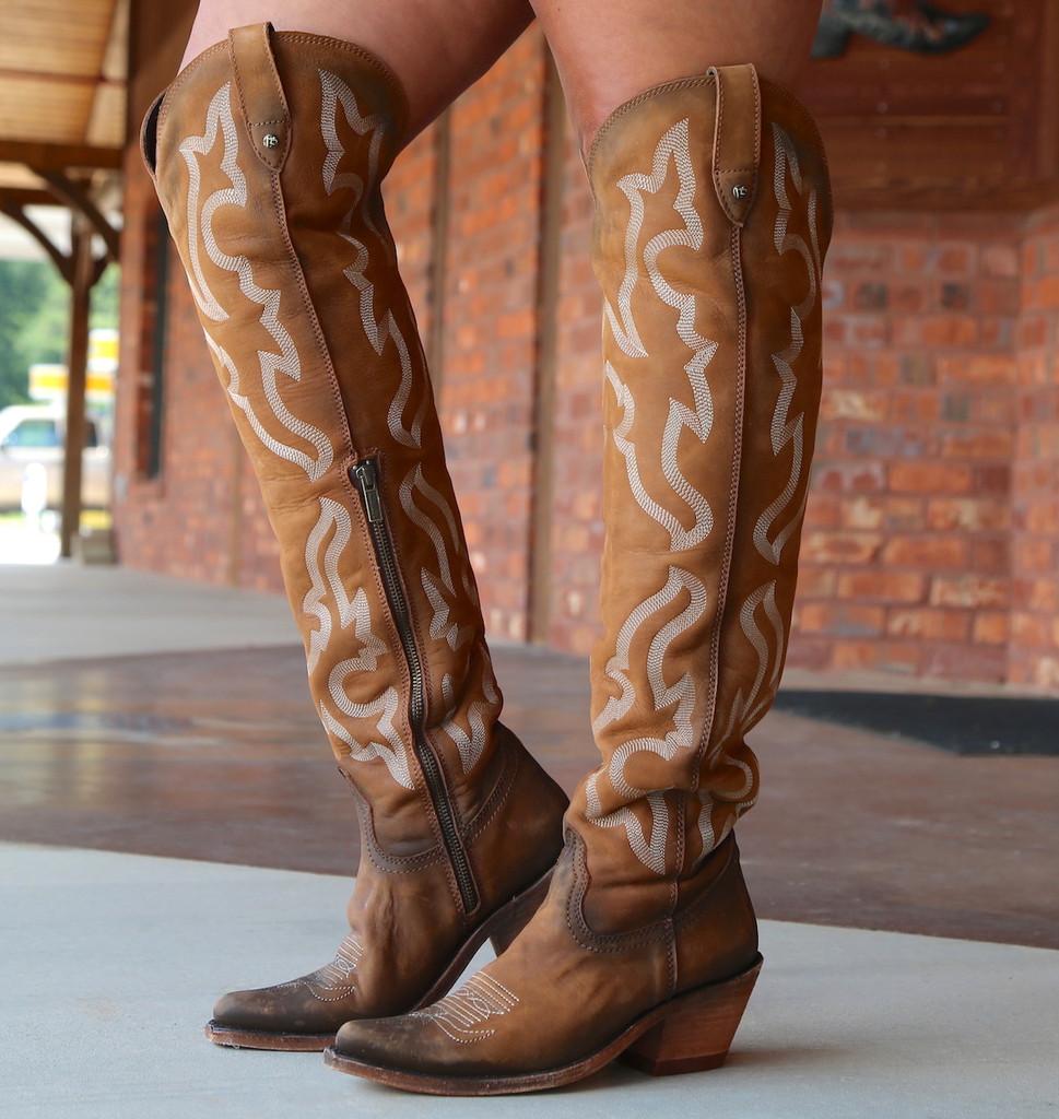 Liberty Black Allyssa Faggio Tall Boots LB712989 Zipper