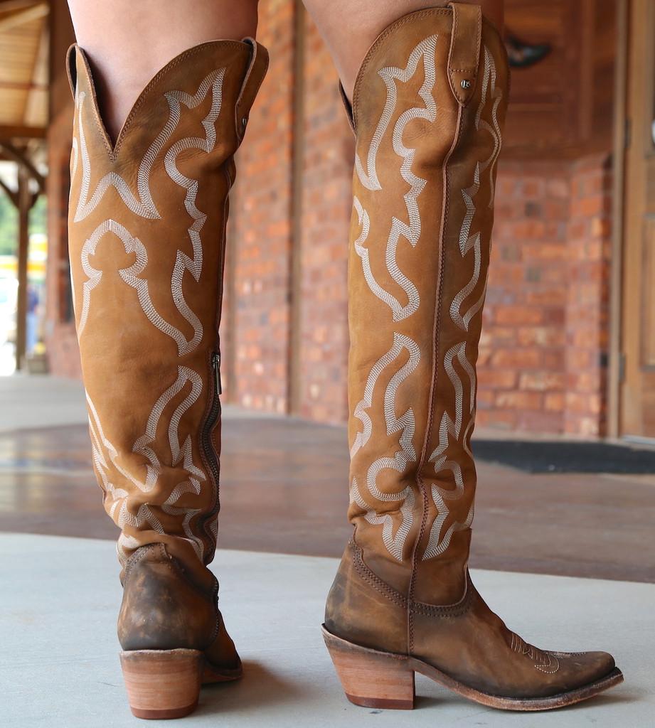 Liberty Black Allyssa Faggio Tall Boots LB712989 Heel