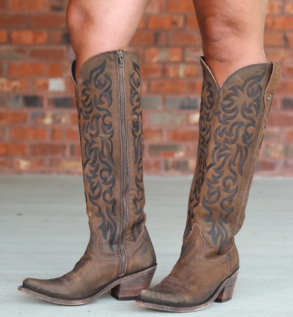 Liberty Black Allie Vegas T Moro Stonewash Boots LB712988 Picture