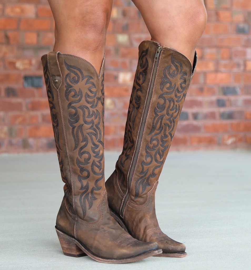 Liberty Black Allie Vegas T Moro Stonewash Boots LB712988 Image