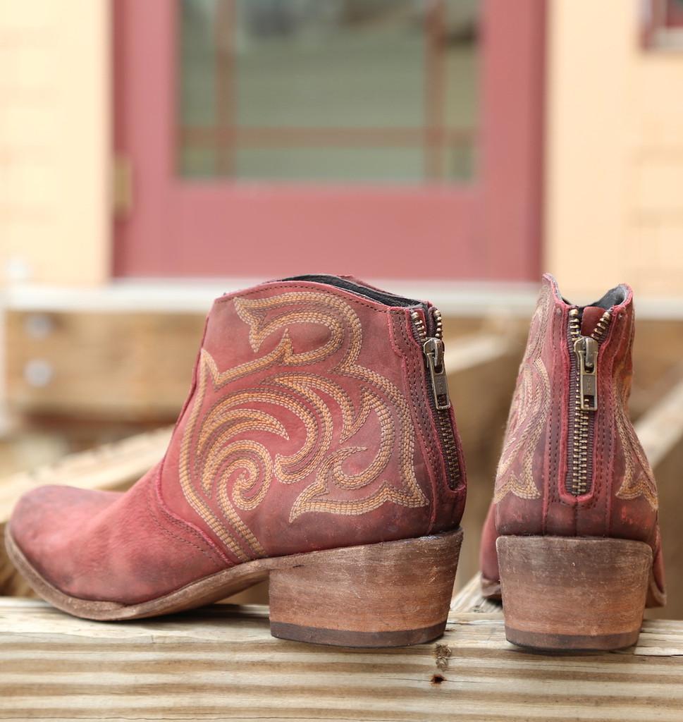 Liberty Black Madison Boots Vegas Rojo LB713709 Heel