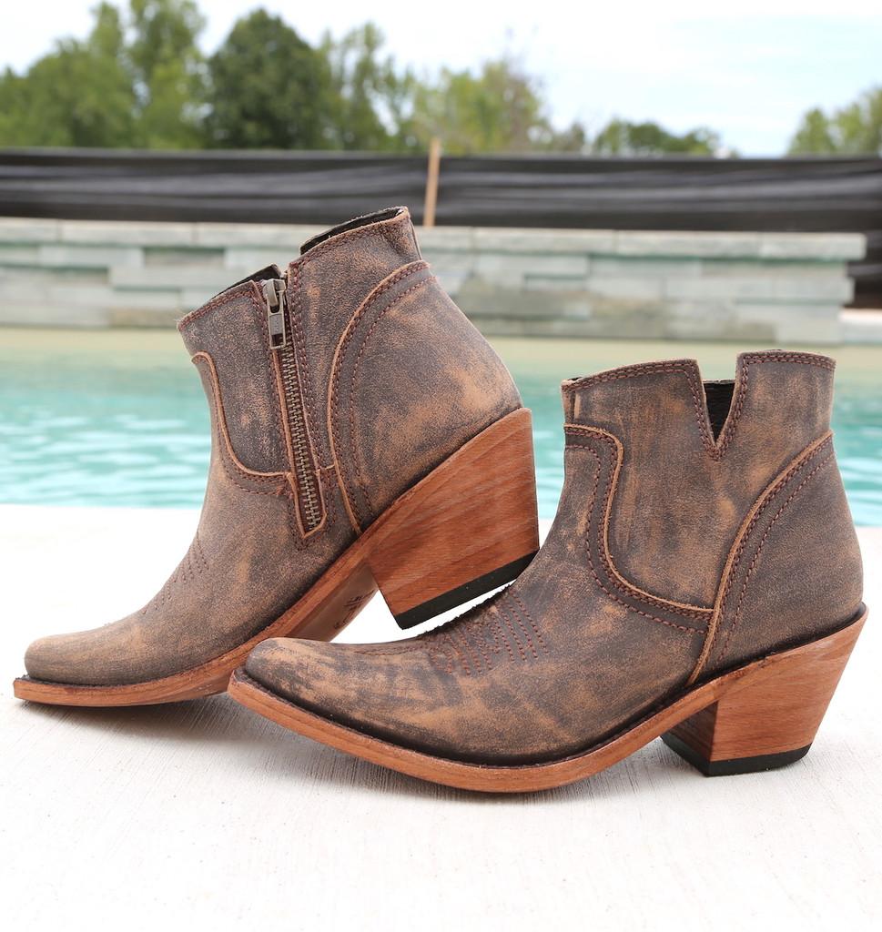 Liberty Black Prya Boots Vintage Canela LB711246 Photo