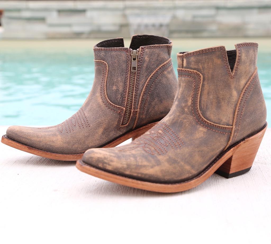 Liberty Black Prya Boots Vintage Canela LB711246 Image