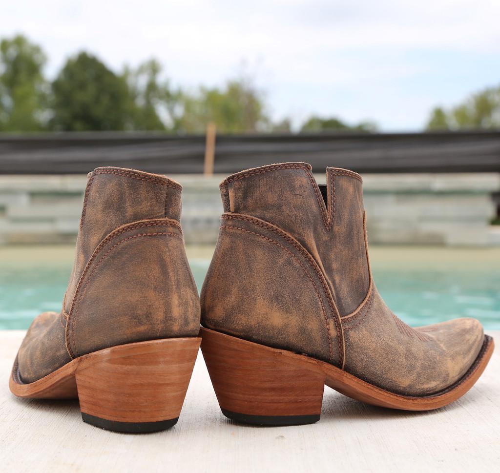Liberty Black Prya Boots Vintage Canela LB711246 Heel