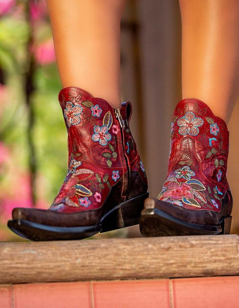 Old Gringo Bonnie Short Red Boots BL2974-3 Picture