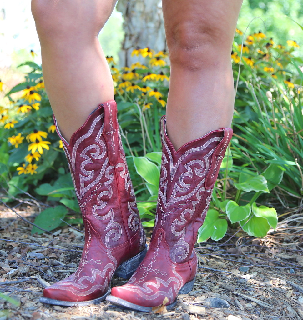 Yippee by Old Gringo Vittoria Red Boots YL277-7 Photo