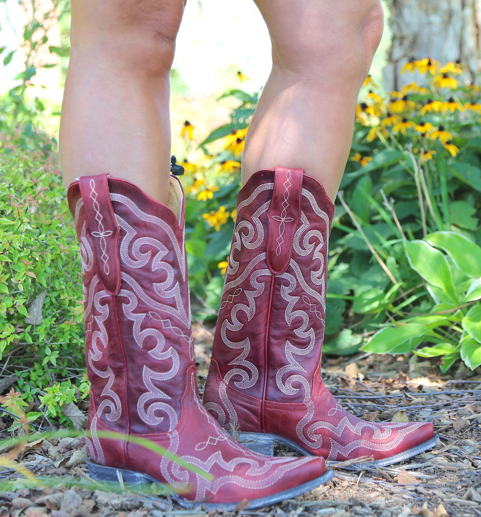 Yippee by Old Gringo Vittoria Red Boots YL277-7 Picture