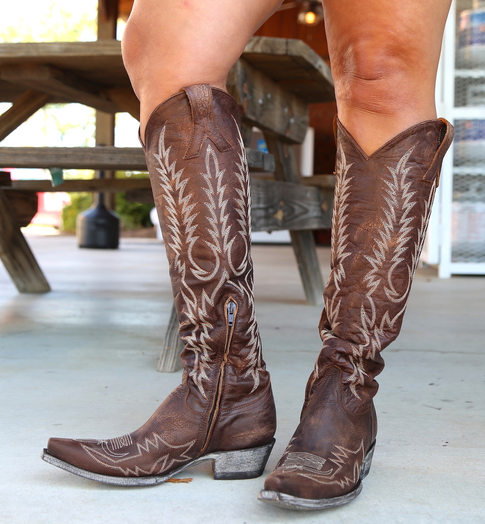 Old Gringo Mayra Bis Brass Boots L1213-4 Photo