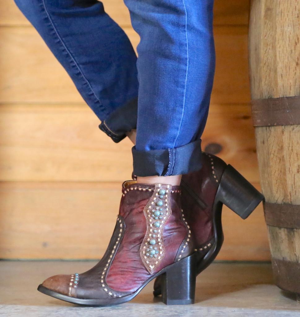 Old Gringo Cheryl Short Chocolate Boots BL3194-1 Photo