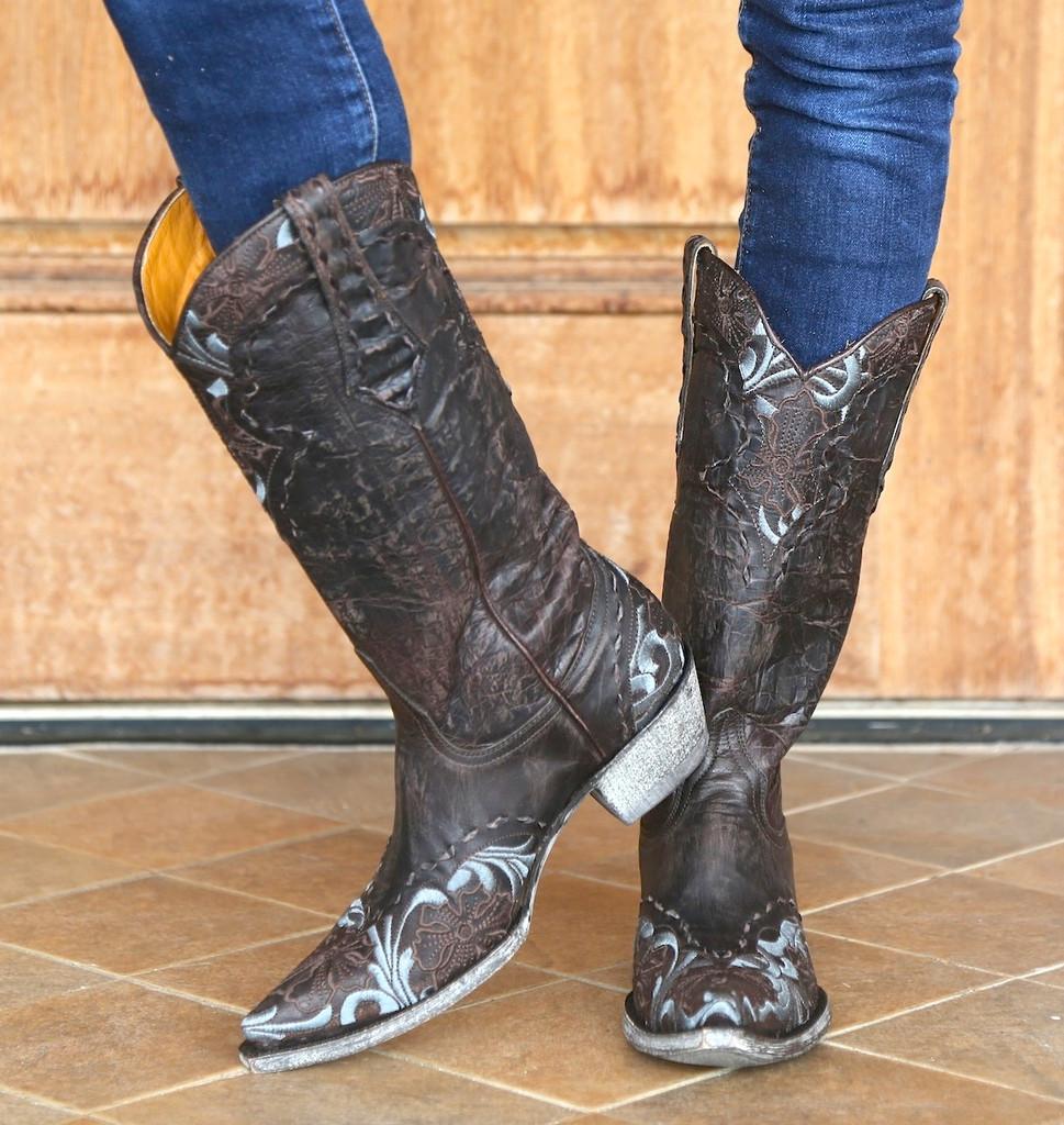 Old Gringo Chocolate Erin Boot