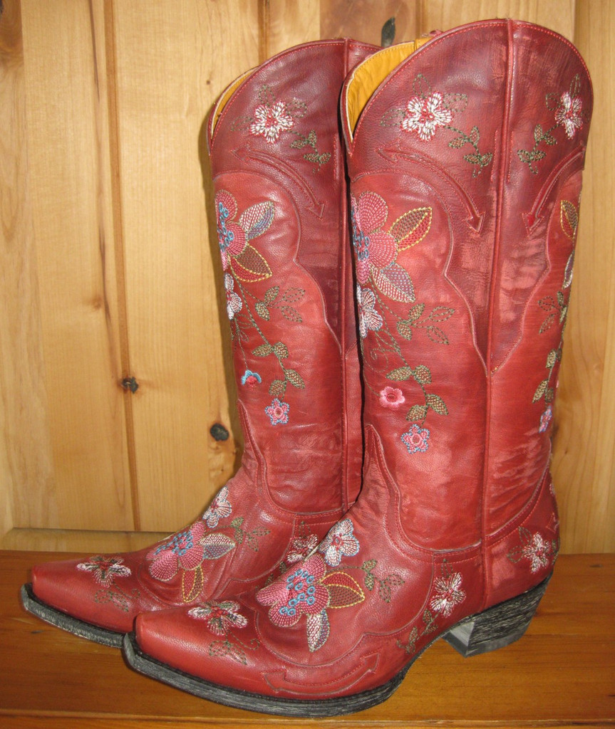 Old Gringo Bonnie Red Boots L649-3 Right